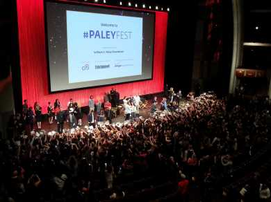 "Fans scream for cast members of ""The Vampire Diaries"" to sign autographs for them at PaleyFest 2014 Saturday night at the Dolby Theatre. Photo by Gabriela Rodriguez, Daily Sundial"