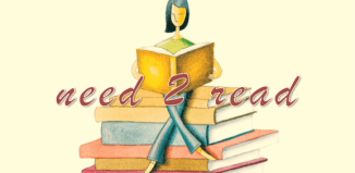 """Need 2 read"" clipart"