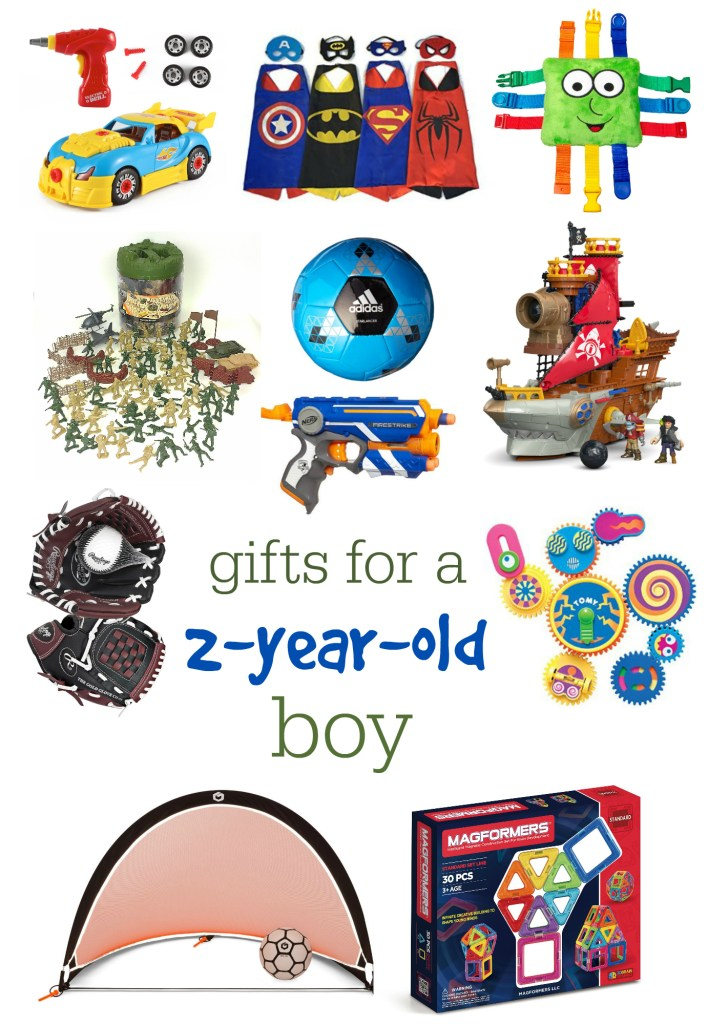 gifts for 2-year-old boy