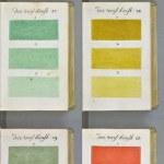 約320年前の色見本。約800ページに渡る色への探求。
