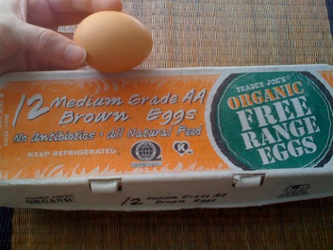 Picture of Trader Joe's Organic Free-Range Eggs