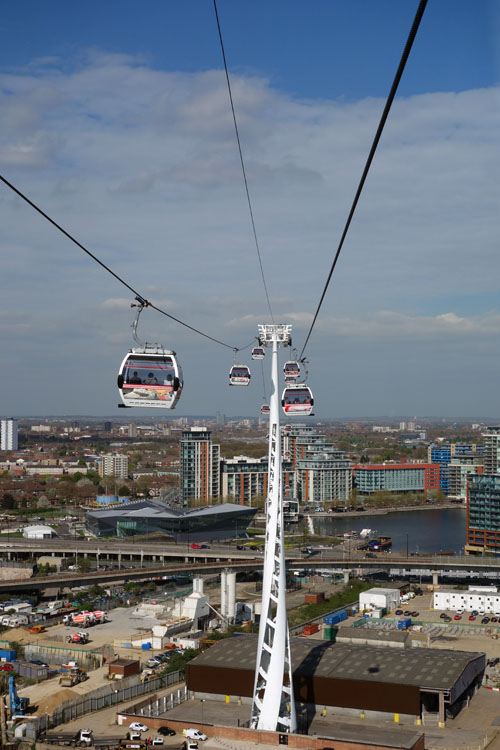 Emirates cable car ride in london 39 s sunny skies sunny - Emirates camera ...
