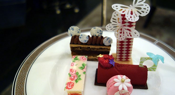 Langham Afternoon Tea Review with Pastry Chef Cherish Finden