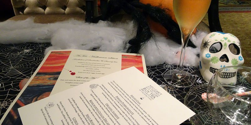 A Halloween Afternoon Tea at Lancaster London to Die For!