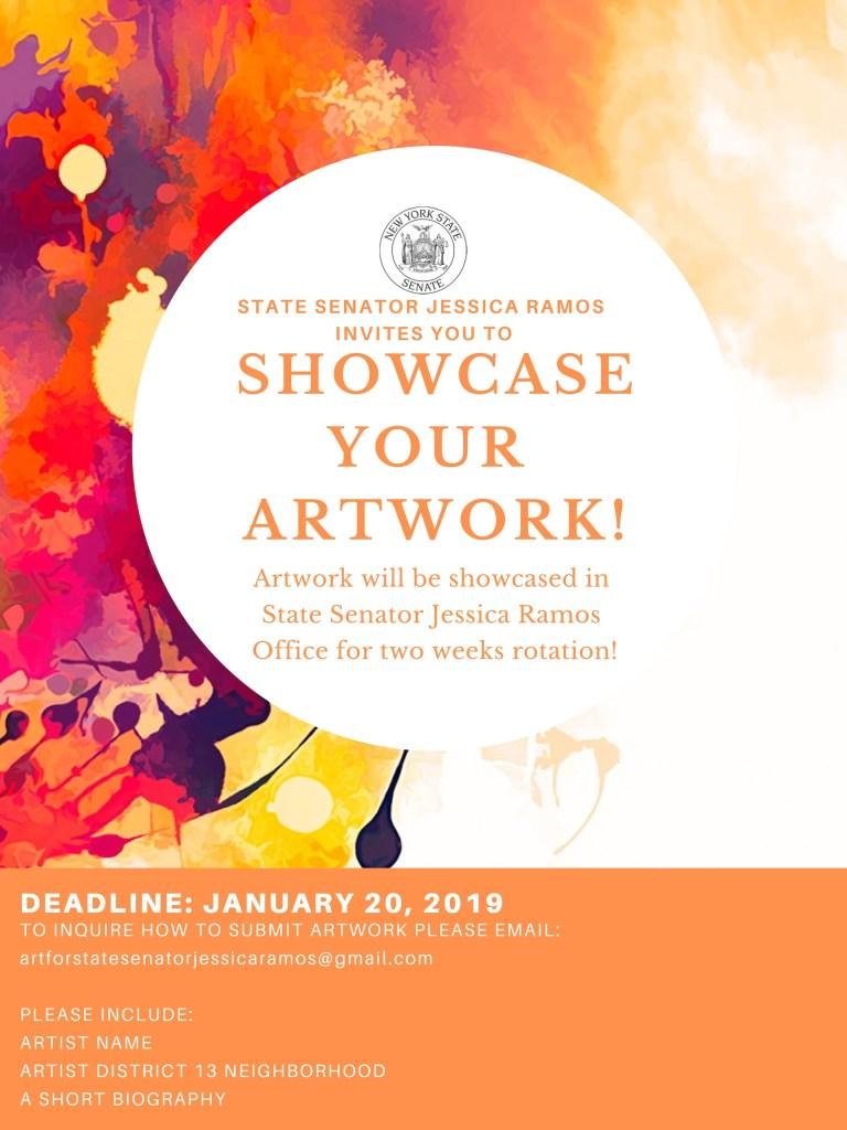 Senator Ramos Art initiative
