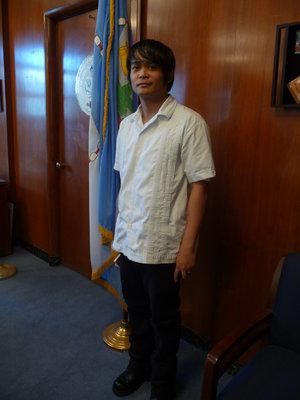 Former Queens Poet Laureate Paolo Javier