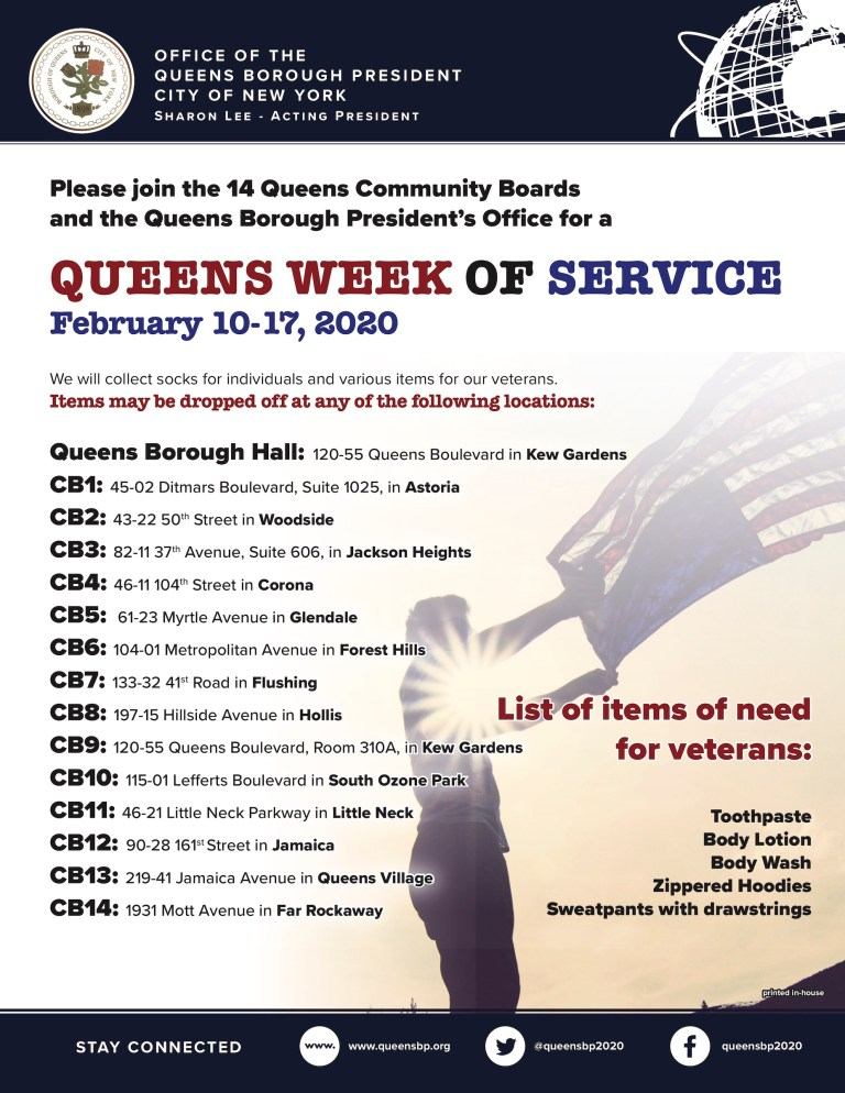 Queens Week of Service