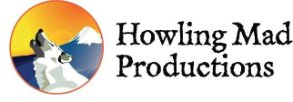 This is a logo design created by Deanna Yildiz for Howling Mad Productions. She created the logo using Adobe Illustrator.