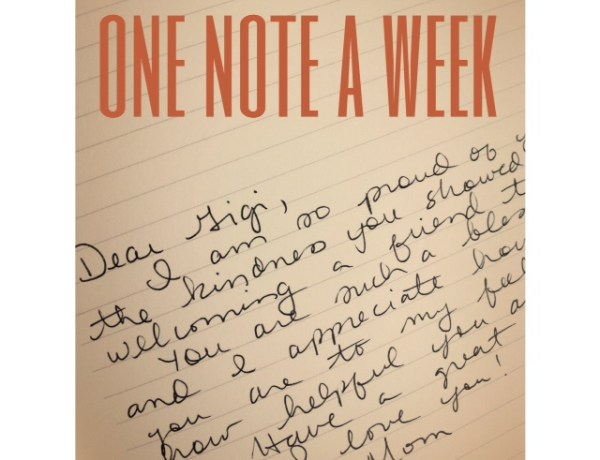 One Note a Week