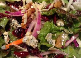walnut & blue cheese salad