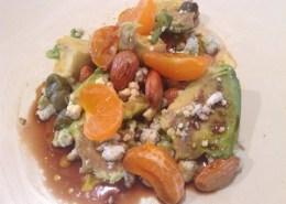 Blue Cheese and mandarin Salad