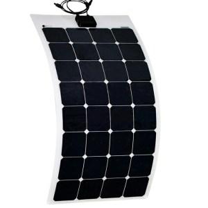 Semi-Flexible Solar Panels