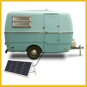 Caravan Solar Power