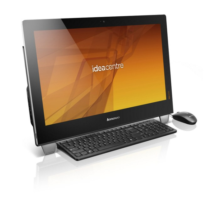 Lenovo IdeaCentre B540 with keyboard and mouse