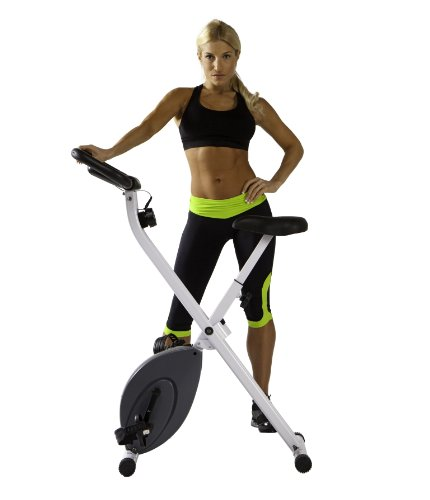 marcy foldable exercise bike review
