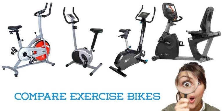 Exercise Bike Comparison Chart