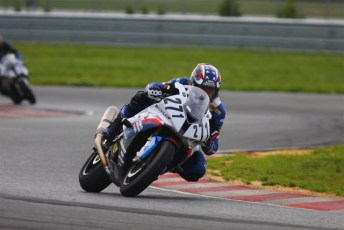 On track at New Jersey Motorsports Park