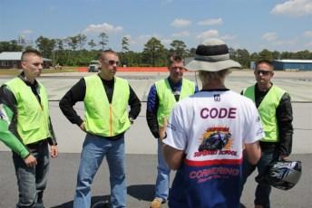 Training Marines on rider safety