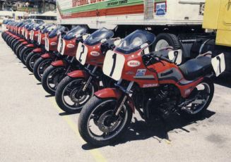Our 1984 GPZ's.