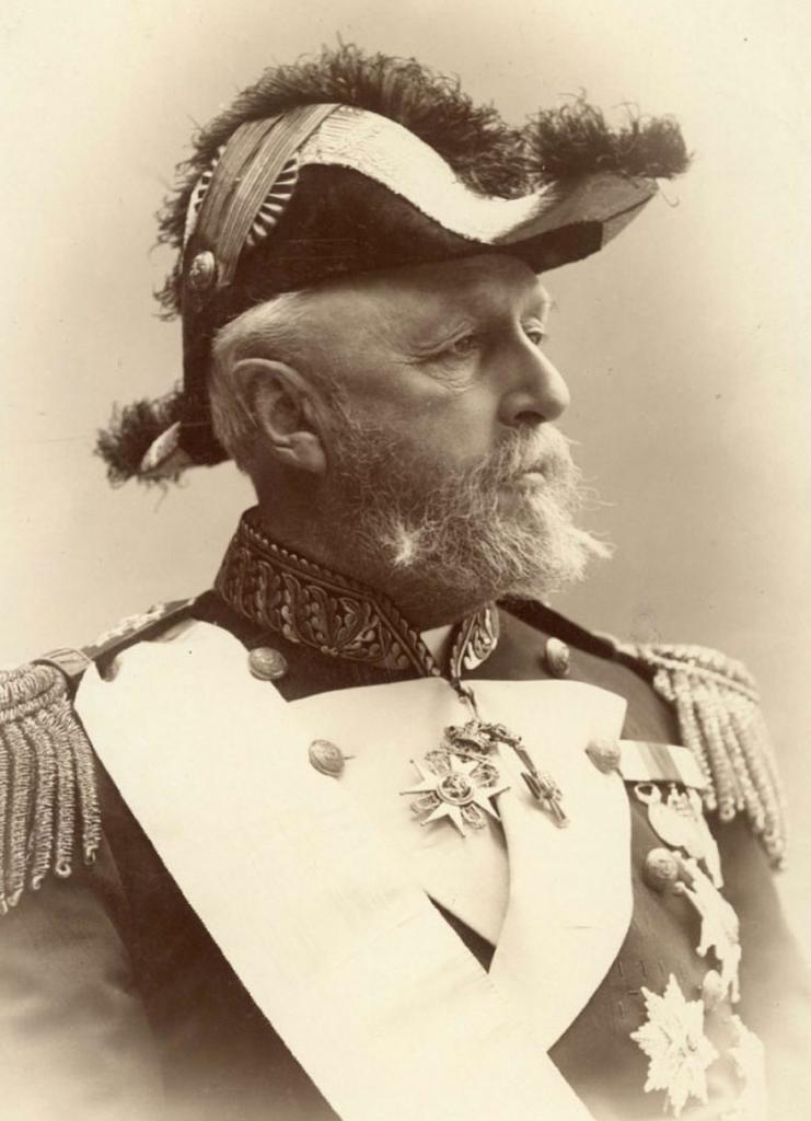 Король Швеции и Норвегии Оскар II, 1880 год