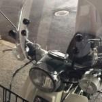 リトルカブ専用ショートバイザー(風防)をスーパーカブ50に取り付ける方法