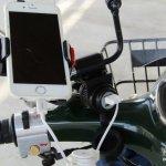 バイク本体が電源に!キジマUSBポートキットで充電しながらスマホナビ