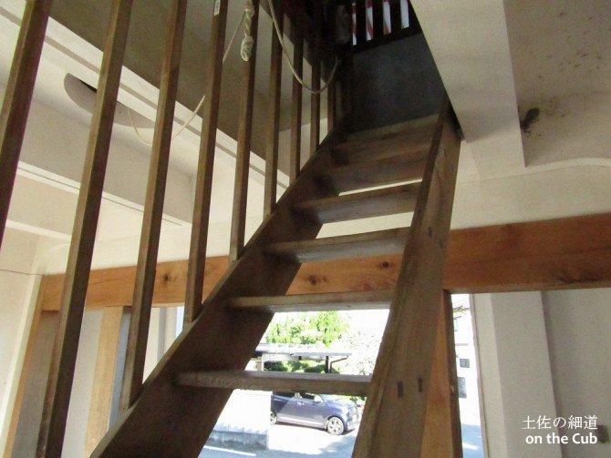 封鎖されていない階段!