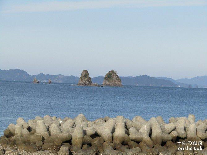 鹿島付近の夫婦っぽい島