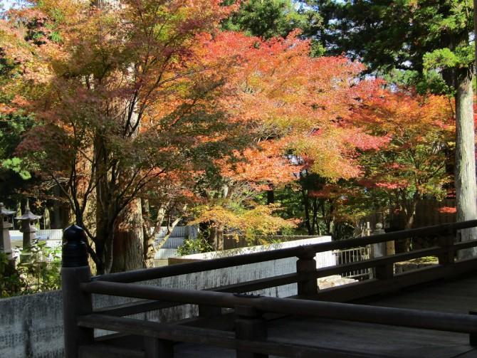 太龍寺旧大師堂からの眺め