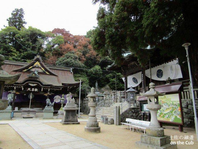 八栗寺、面白いお寺です
