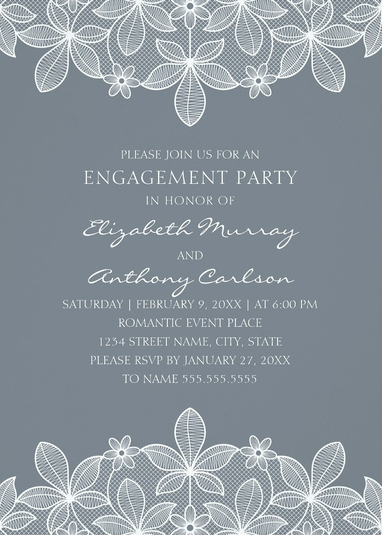 Large Of Engagement Party Invitations
