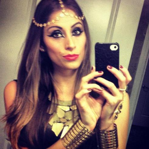 Cleopatra Makeup, cleopatra eyes, egyptian eyes, egyptian makeup, dramatic eye makeup, egyptian style, fashionable cleopatra makeup, make up by camila coelho, make up by supervaidosa, supervaidosa, cleopatra halloween 2012