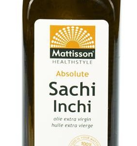 Mattisson HealthStyle Absolute Sacha Inchi Olie Extra Virgin Raw gezond?