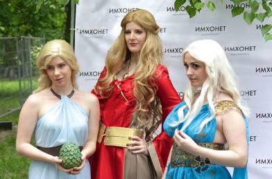 Персонажи из Игры престолов