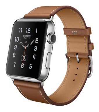 Single Tour 42mm Stainless Steel Case Fauve Barenia Leather Band