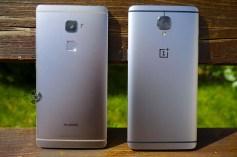 OnePlus 3 сравнение с Huawei Mate S