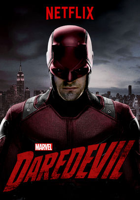 Oops netflix leaks poster featuring the red daredevil costume photo