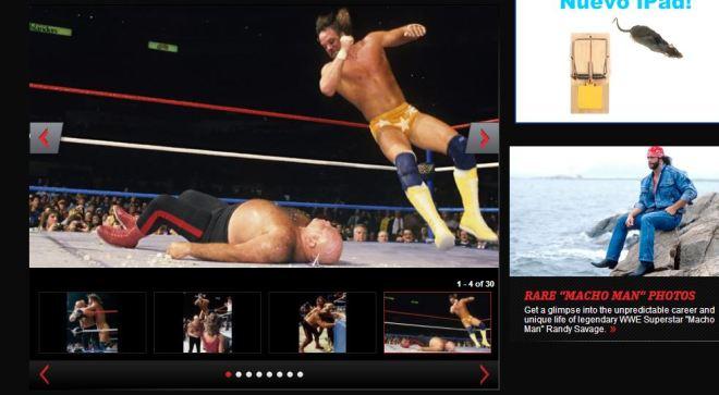 Savage vs Steele|wwe.com