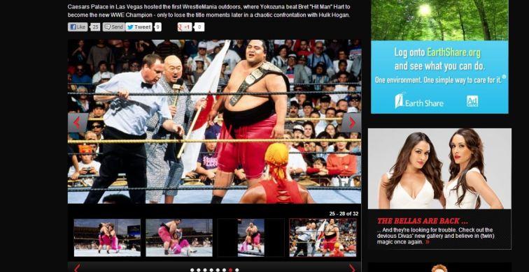 Yokozuna vencé a Bret Hart convirtiendose en el campeon de la WWE|wwe.com