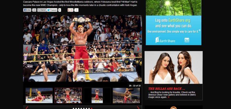 Hogan entra después de la victoria de Yokozuna y lo reta convirtiéndose en el nuevo campeón|wwe.com