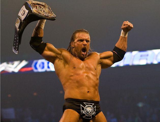 Triple H (2008) / Photo by David Seto - Creative Commons Attribution-Share Alike 3.0 license.