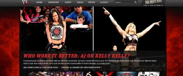 ¿AJ o Kelly Kelly?  - WWE.com