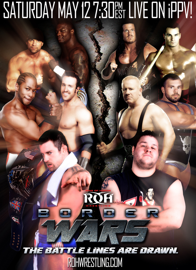 Cartel de Border Wars / rohwrestling.com