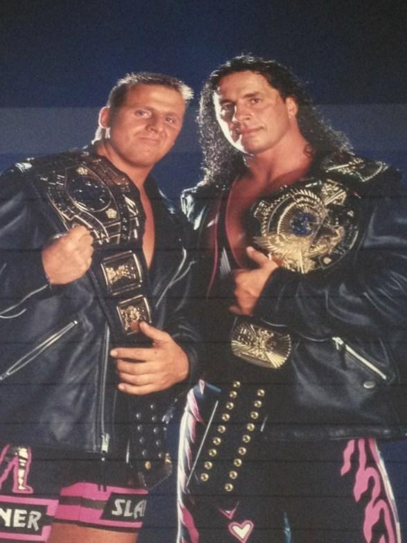 Owen Hart (q. e. p. d.) y Bret Hart / Twitter.com/BretHart