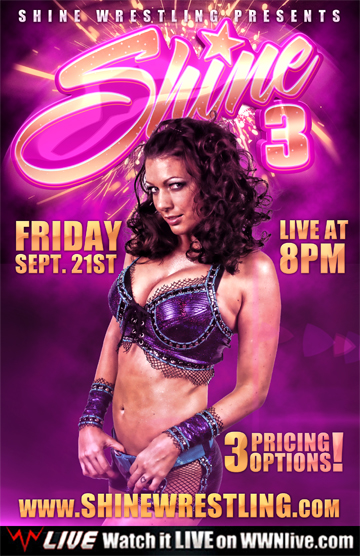 Shine 3 Poster Oficial