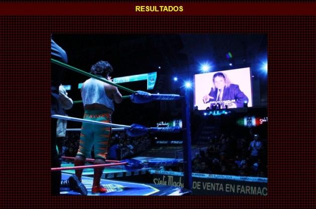 Emilio Charles Jr. (q.e.p.d.) es recordado por los luchadores (como El Felino), equipos de Staff y Programación del CMLL // Arena México – 28 de diciembre de 2012 // Imagen by www.cmll.com