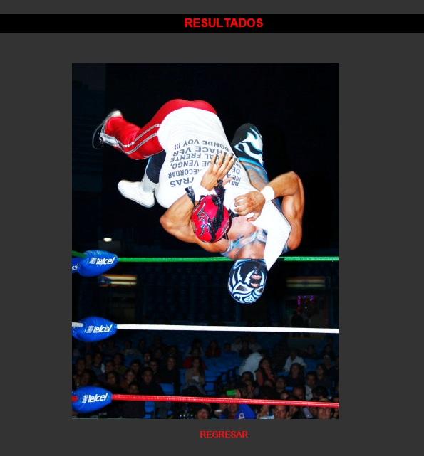 La Sombra ejecutando un Spanish Fly sobre Volador Jr. en la primera etapa de la Copa Jr. / Arena México - 30 de nov. de 2012 / Imagen by www.cmll.com