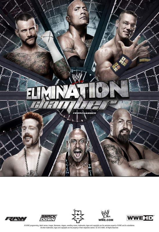 Poster  del PPV WWE Elimination Chamber 2013