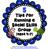 5 Tips for Running a Social Skills Group (ages 4-7)