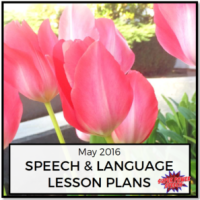 May 2016 Lesson Plans